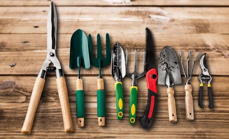 Niezbędne narzędzia do pracy w ogrodzie